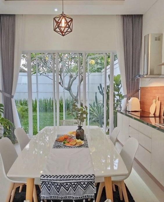 Desain ruang makan minimalis 2