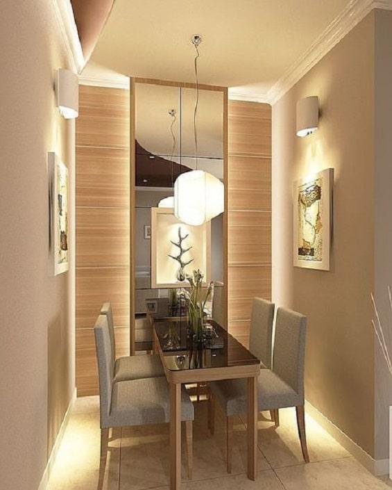 Desain ruang makan sederhana 2