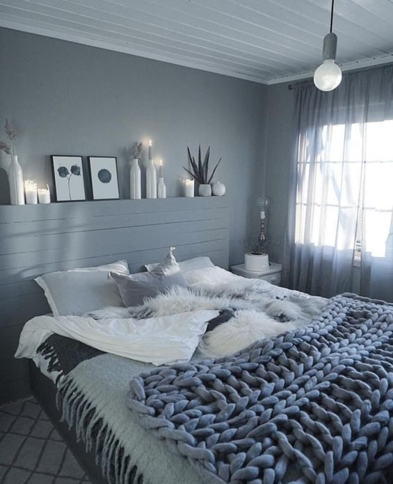 Warna Cat Kamar Tidur Agar Terkesan Lebih Luas dan Nyaman