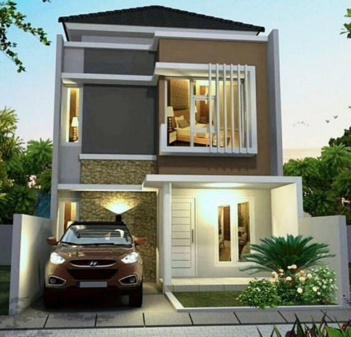 Model Rumah Minimalis 2 Lantai Sederhana Indah Dan Nyaman