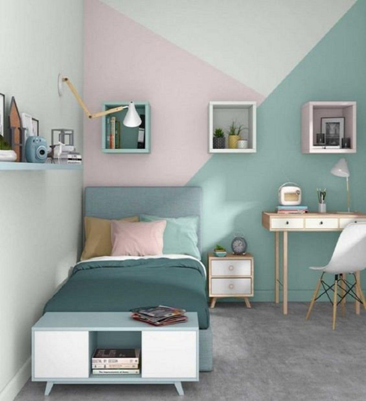 Desain Kamar Minimalis Remaja Sederhana Terbaru Dan Nyaman