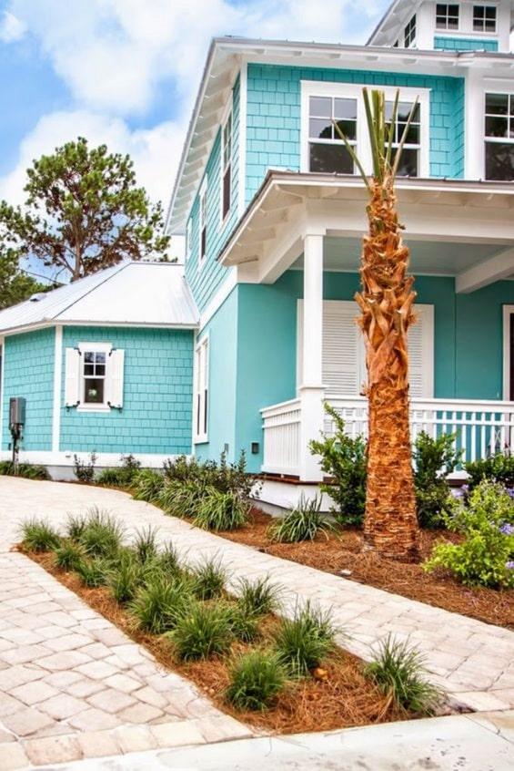 Warna Cat Dinding Luar Rumah yang Cerah dan Menarik
