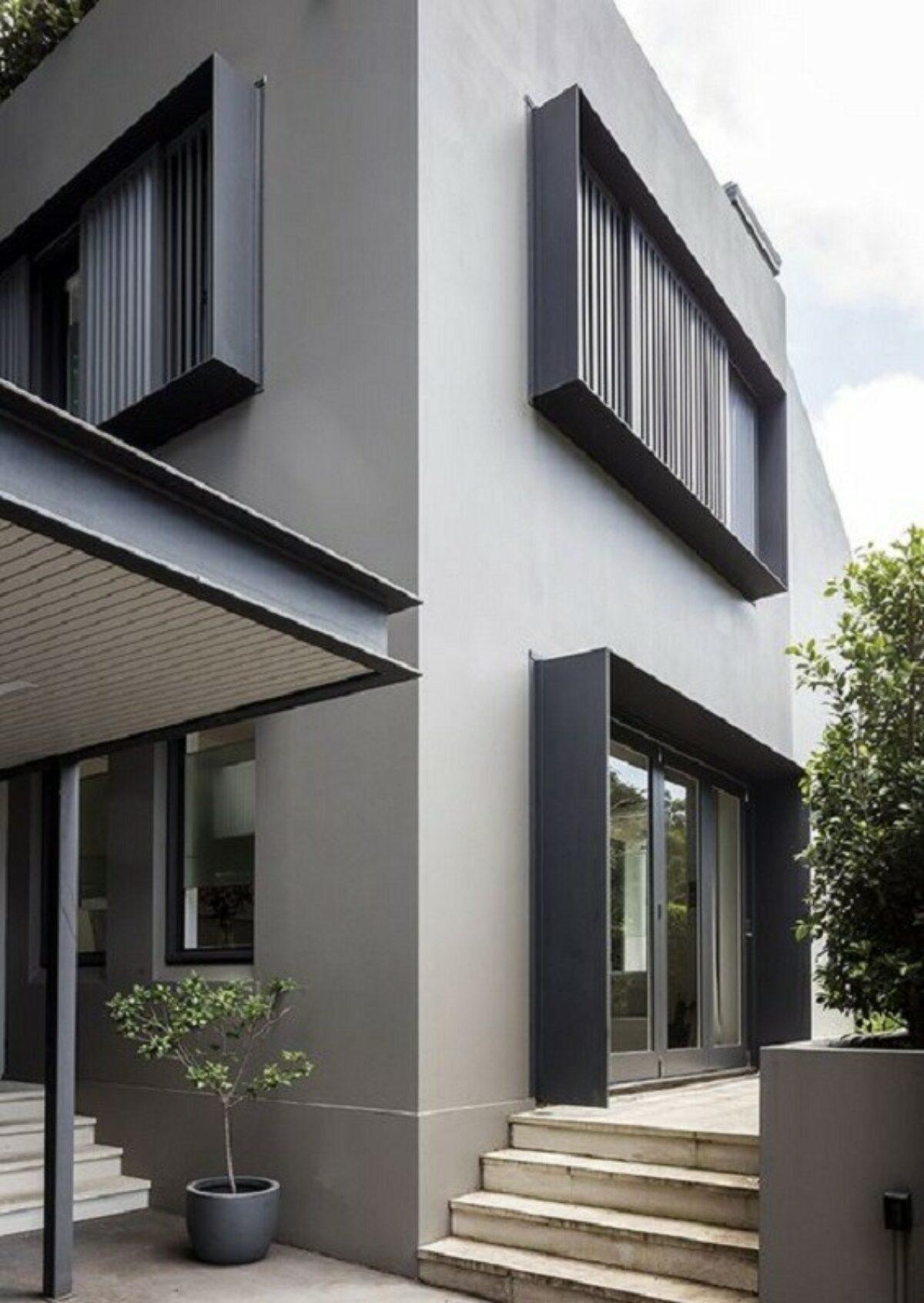 Warna Cat Eksterior Rumah Yang Bagus Dan Menawan Warna cat eksterior rumah