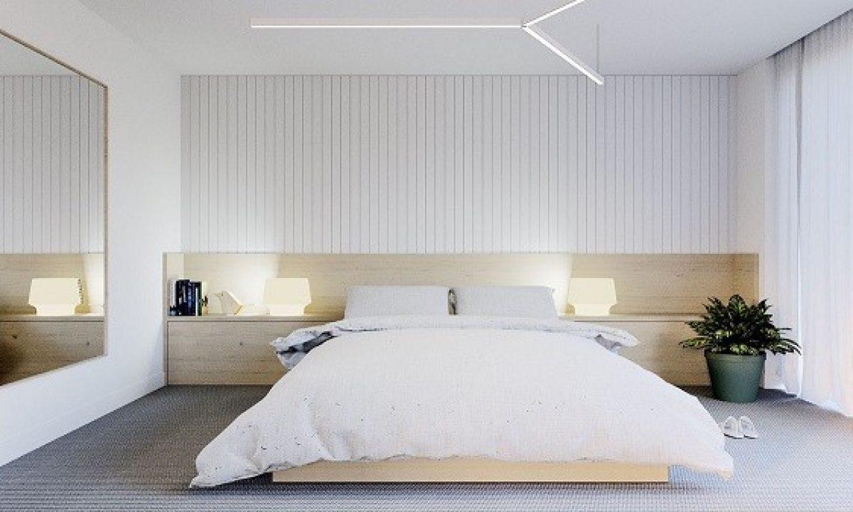 15 Desain Kamar Tidur Minimalis Dengan Dekorasi Kekinian Yang Cantik